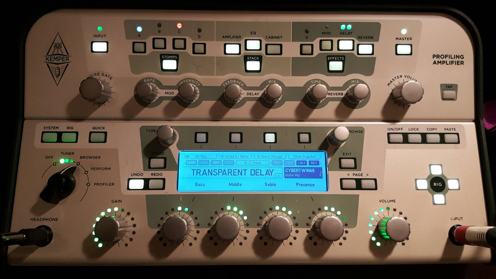 Kemper Profiling Amp Review | WIRED GUITARIST