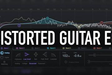 Distorted Guitar EQ