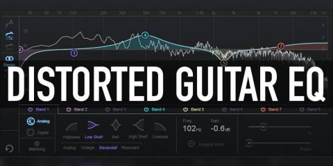 Distorted Guitar EQ