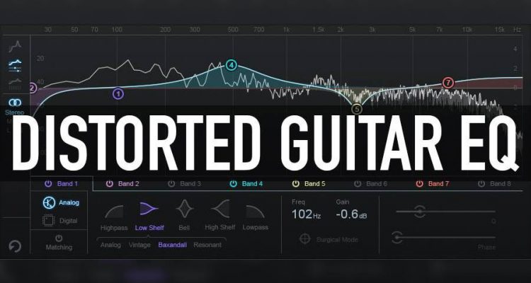 Recording Tips: EQing Distorted Guitars | WIRED GUITARIST