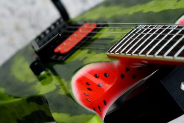 Watermelon Guitar