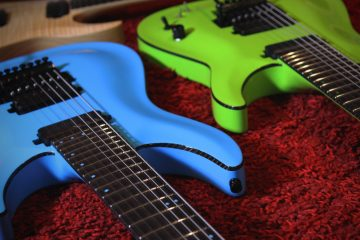 Schecter KM7 FRS