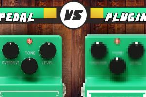 Overdrive pedal vs plugin