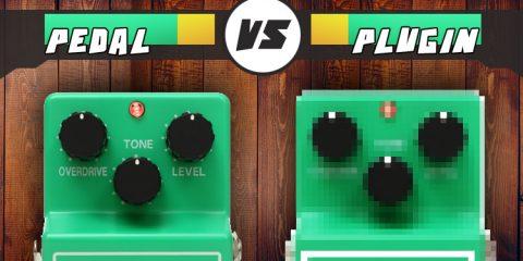 Overdrive pedal vs plugin