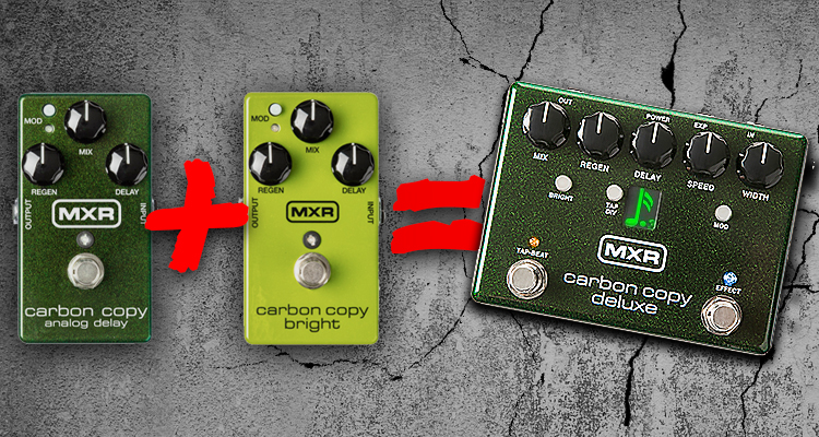mxr carbon copy deluxe review wired guitarist